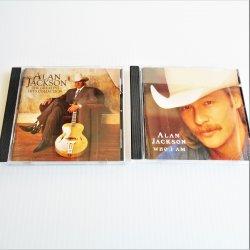 Alan Jackson, 2 cd Bundle, Greatest Hits and Who I Am