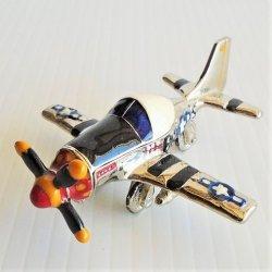 Objet d'Art Mustang P51 Aircraft Trinket Box #133