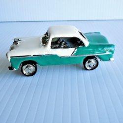 Objet d'Art 1957 Chevy Bel Air Coupe Trinket Box #158
