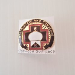 46th US Army Combat Support Surgical Hospital DUI Insig Pin