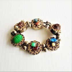 Vintage Bracelet, Very Unusual, Kitschy, and Unique