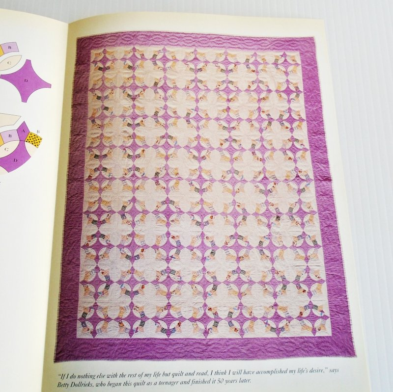 Caesar's Crown quilt pattern. Actual size templates included. From Best Loved Quilt Patterns Series