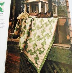 '.Drunkard's Path Quilt Pattern.'