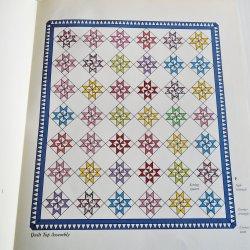 Martha Washington Star Quilt Pattern with Templates
