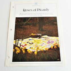 '.Roses of Picardy Quilt Pattern.'