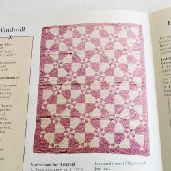 Windmill Quilt Pattern with Templates