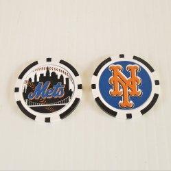 New York Mets Golf Ball Marker Chips, pk of 3, New