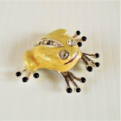 '.Frog Magnet, Rhinestones.'