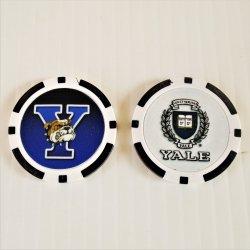 Yale Bulldogs Golf Ball Marker Chips, pk of 3