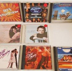 Misc CDs, 8 CDs. 80s, Idol, 1961, Aiken, Soundtracks, etc