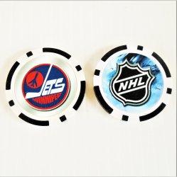 Winnipeg Jets NHL Golf Ball Marker Chips, 3 pieces