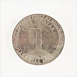 '.Bellagio One Dollar coin token.'