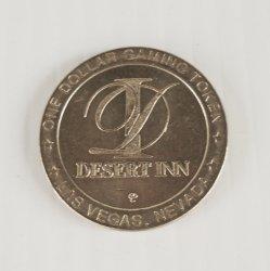 Desert Inn Las Vegas, $1 Metal Coin Token