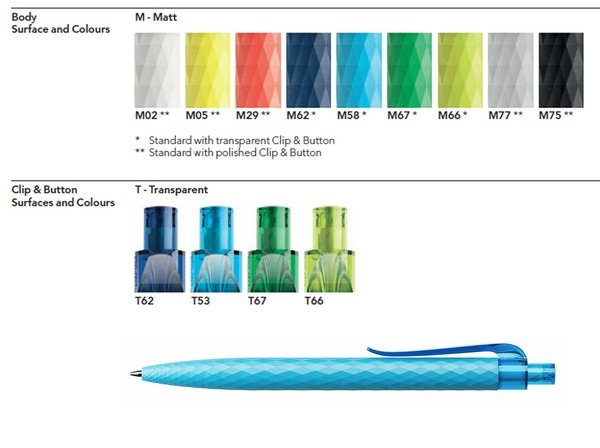 SWISS MADE PENS. Price include one imprint color in one location. Order online easy, fast and secure process. FREE SHIPPING USA. FREE EMAIL PROOF. NO HIDDEN CHARGE.