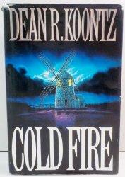 Cold Fire by Dean Koontz first edition HC DJ 1991 thriler