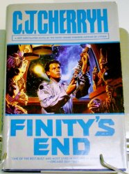 Finity's End by C. J. Cherryh 1997 HC DJ A Merchanter Novel