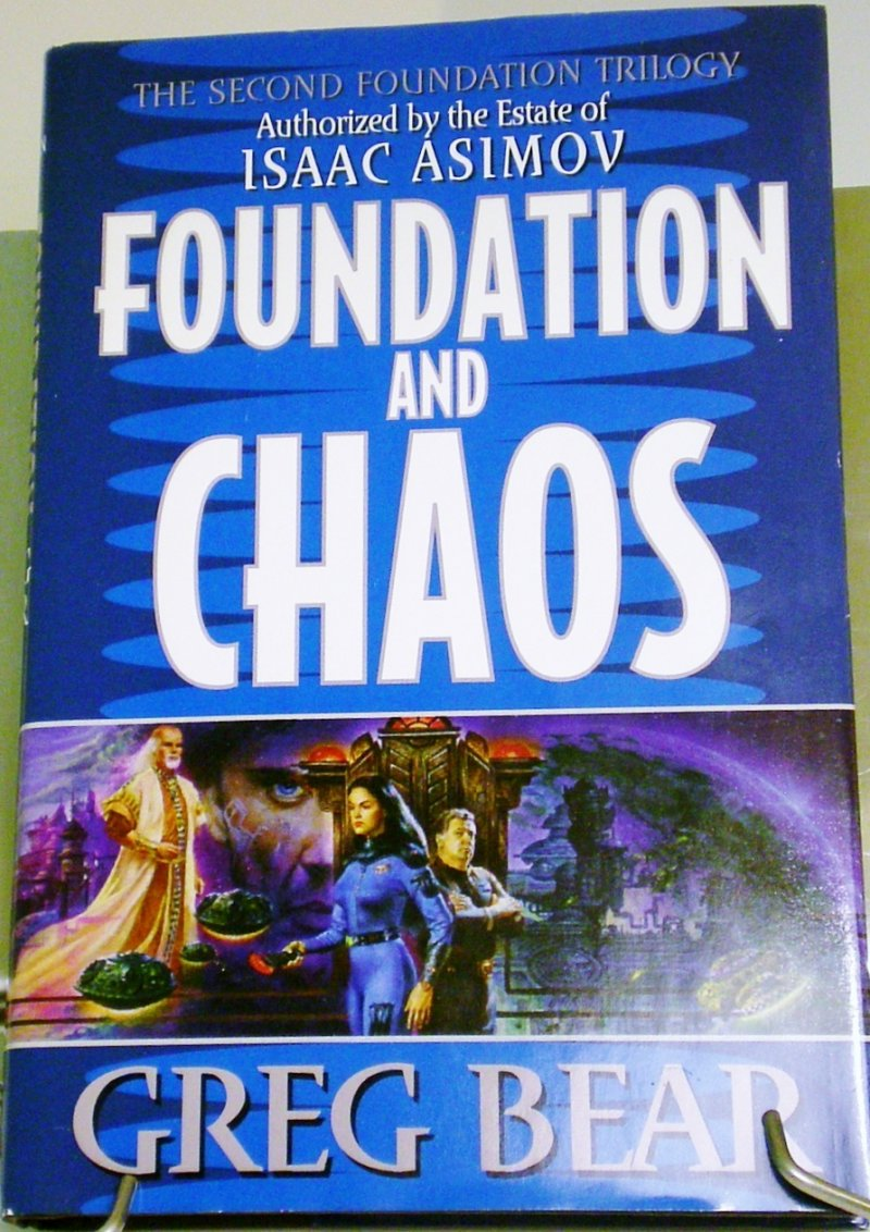 Second Foundation Trilogy by Greg Bear from Asimov's Foundation Series