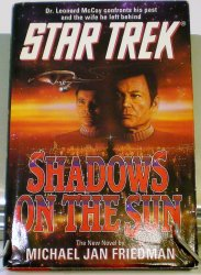 Shadows on the Sun Star Trek by Michael Jan Friedman