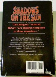 '.Shadows on the Sun .'