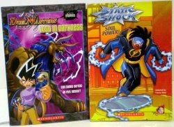 Lost in Darkness Duel Masters & Soul Power Static Shock 2 book set