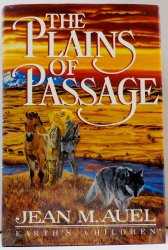 The Plains Of Passage by Jean M. Auel Hardcover DJ 1st Ed 1990