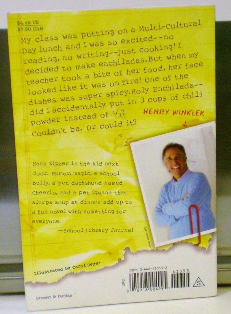 The Mostly True Confessions of the World's Best Underachiever by Henry Winkler, Lin Oliver, and Jesse Joshua Watson
