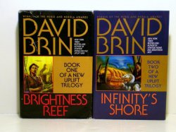 An Uplift Trilogy by David Brin Books 1 & 2, 1995-1996