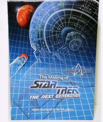 The Making of Star Trek the Next Generation Collectors Ed 1994 Skybox