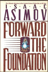Forward the Foundation by Isaac Asimov 1993 HC DJ 2nd ed