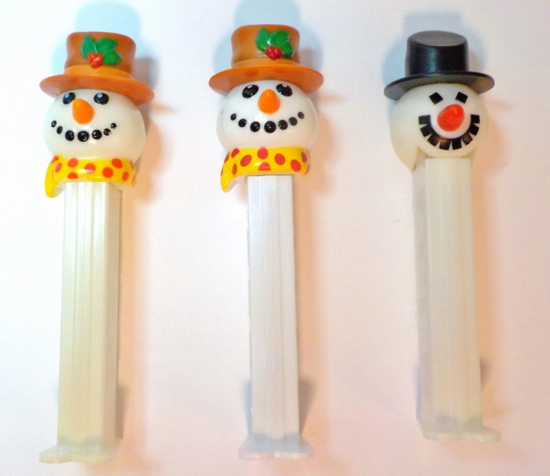 PEZ Snowman