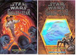 Star Wars Galaxy of Fear Eaten Alive & The Brain Spiders John Whitman