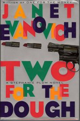 Two for the Dough Stephanie Plum No 2 by Janet Evanovich 1st ed HC 1996