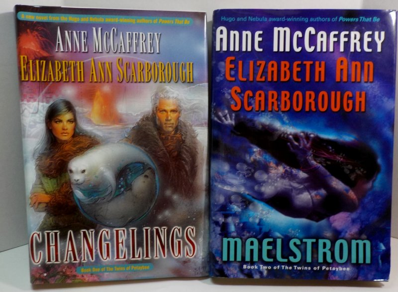 The Twins of Petaybee Books 1 and 2 by Anne McCaffrey and Elizabeth Ann Scarborough