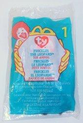 McDonalds TY Teenie Beanie Freckles the Leopard toy 1 1999