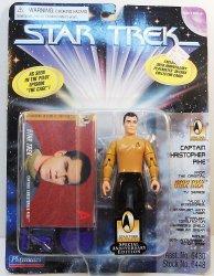 Star Trek The Original Series Capt. Christopher Pike 30th Anniversary
