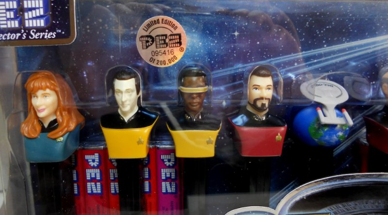 Star Trek The Next Generation 25th Anniversary Set limited 200,000