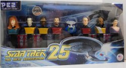 Pez Star Trek The Next Generation 25th Anniversary Set Edition
