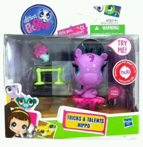 Image 0 of Littlest Pet Shop Tricks and Talents Hippo 2394 Hasbro