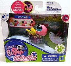 Littlest Pet Shop Dragonfly 2314 Walkables Figure