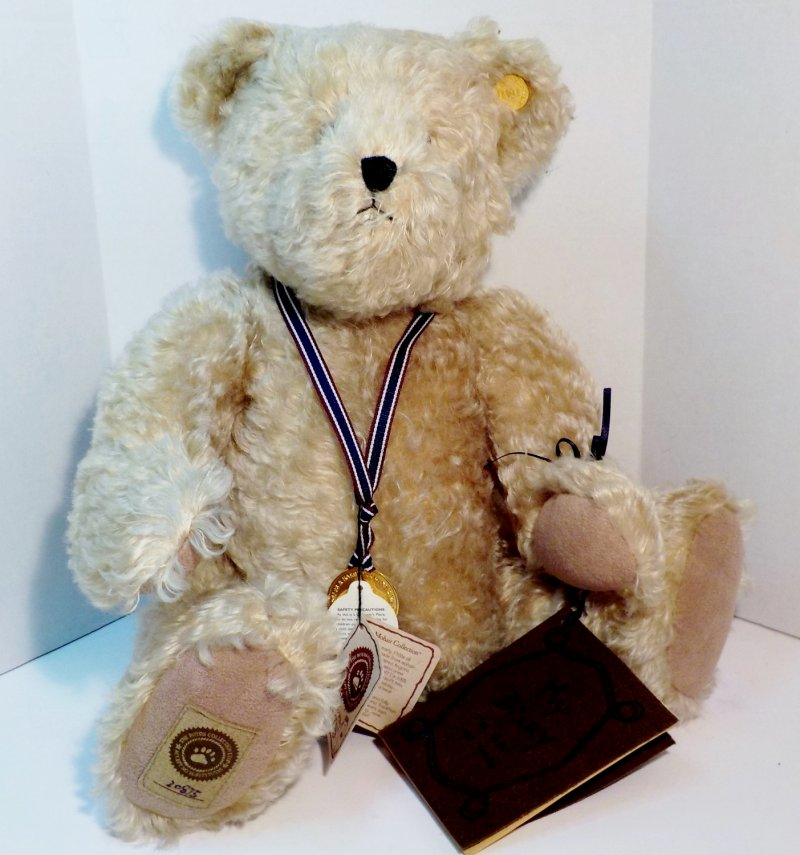 100th Anniversary Teddy Bear, Limited Edition. Retired
