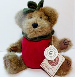Boyd's Bear Smith Applewish TJ's Best Apple Harvest Gang retired 2001