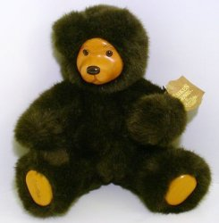 Robert Raikes Bears Cookie Dark Brown version 1989