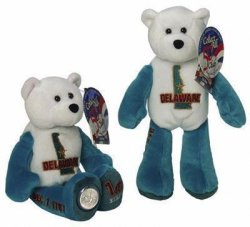 State Quarter Coin Bears Delaware Limited Treasures 1999
