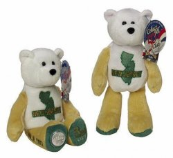 State Quarter Coin Bears New Jersey Limited Treasures 1999