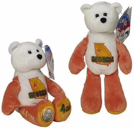 State Quarter Coin Bears Limited Treasures 1999 retired