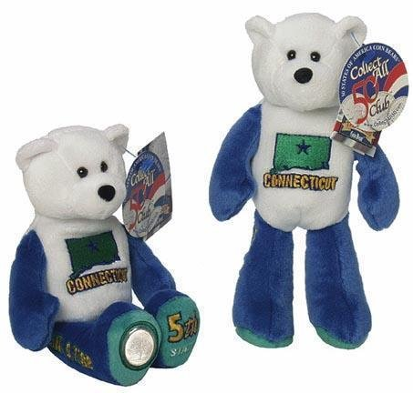 State Quarter Coin Bears Limited Edition 1999 retired