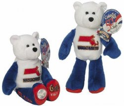 State Quarter Coin Bears Massachusetts Limited Treasures 2000