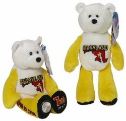 State Quarter Coin Bears Maryland Limited Treasures 2000