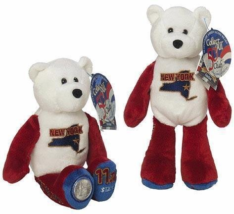 State Quarter Coin Bears Limited Treasures 2001 retired