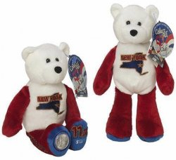 State Quarter Coin Bears New York Limited Treasures 2001